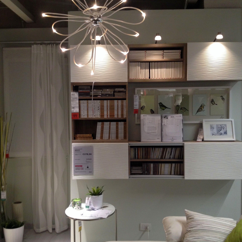 Parete soggiorno e lampadario IKEA   Verde Mattone   Pinterest