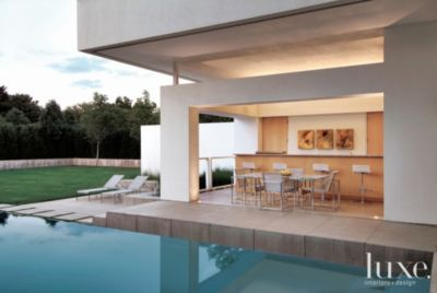Seating By The Pool
