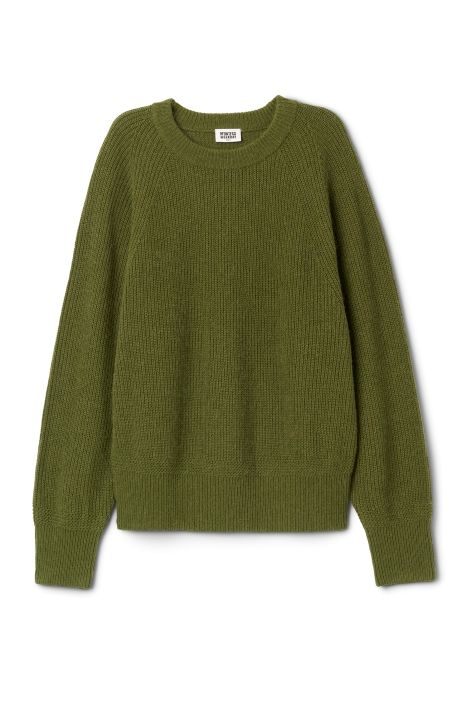 Weekday Flora Sweater in Green
