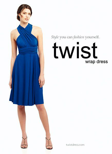 My Convertible/Infinity Dress. | costura | Pinterest | Kleid nähen ...