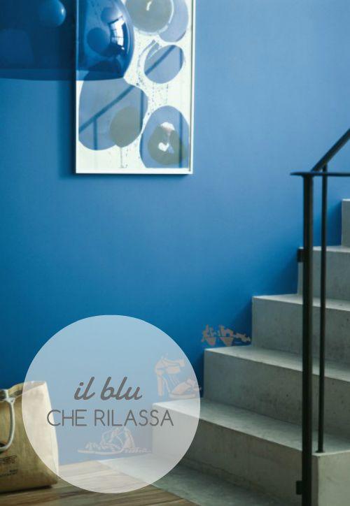 Il #blu è il colore rilassante per eccellenza. Adattissimo ...