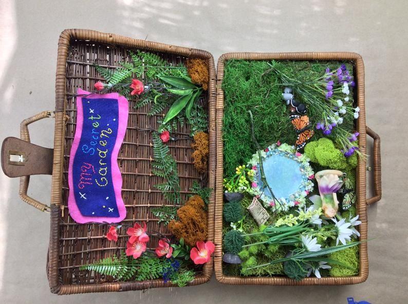 My Secret Garden Satchel/Fairy Garden/Fantasy World