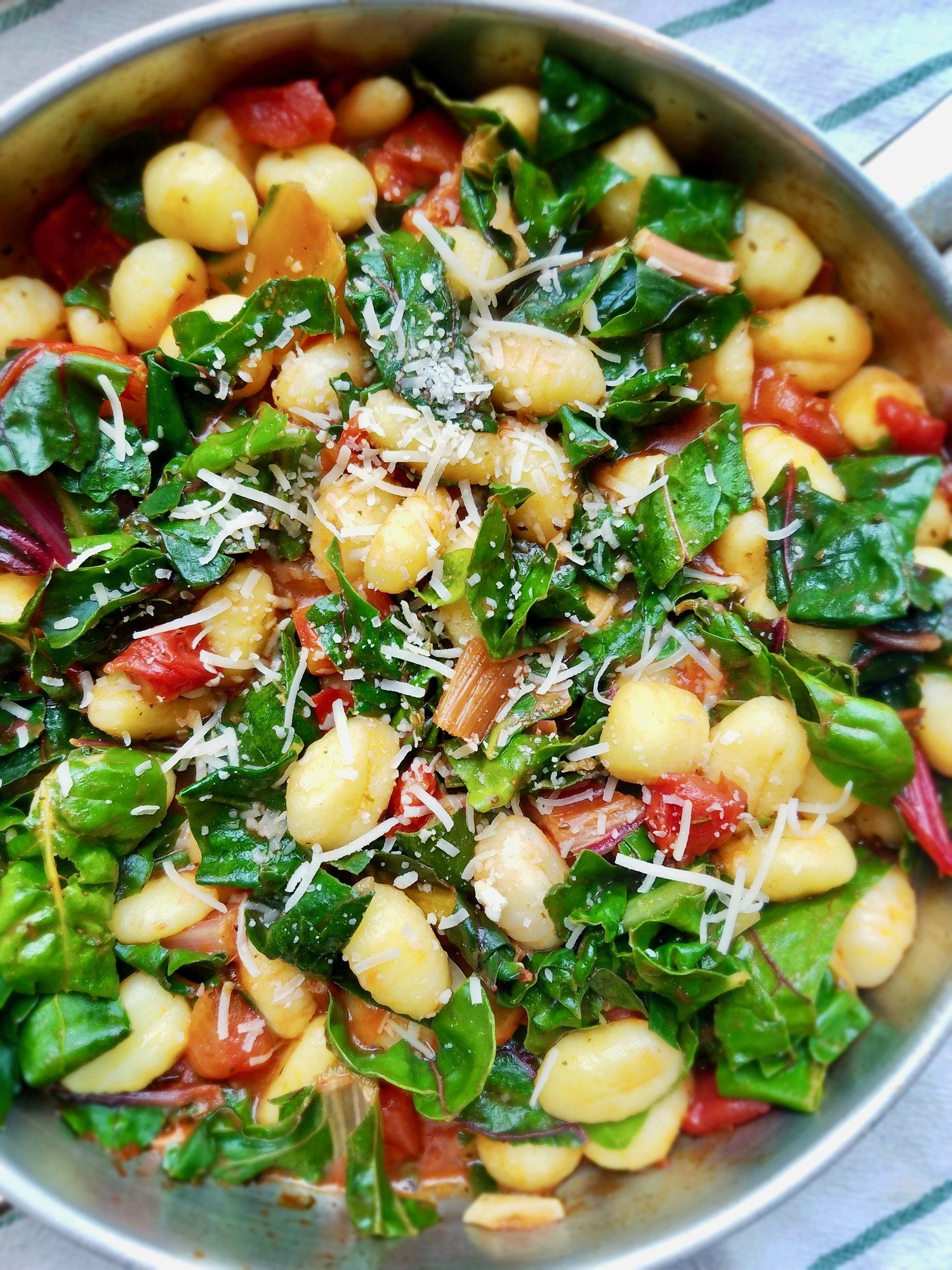 Gnocchi With Swiss Chard And Tomatoes Food Gnocchi