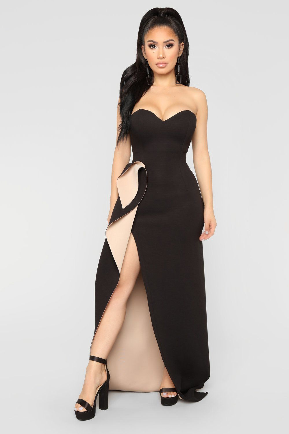 One night only dress blacknude in fashion pinterest