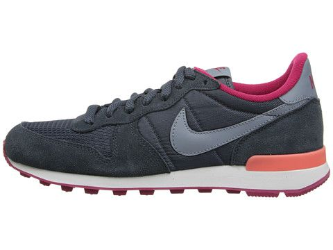 sale retailer ed04a cad73 ... Nike Internationalist Dark Magnet Grey Fuchsia Force Bright Mango Magnet  Grey - 6pm ...