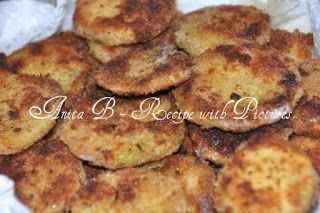Fried Breaded Zucchini Slices