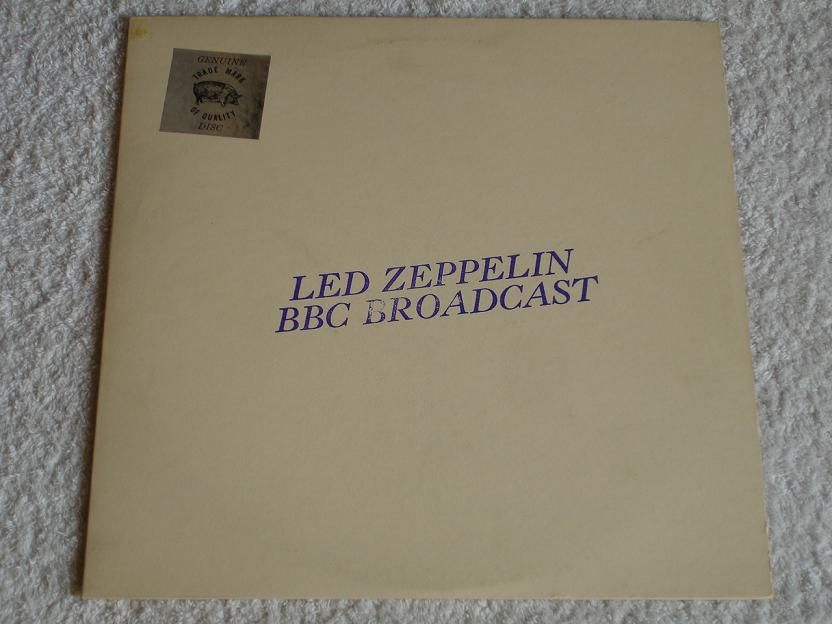 The Historic Bbc Presentation Of Led Zeppelin Front Cover Tmoq