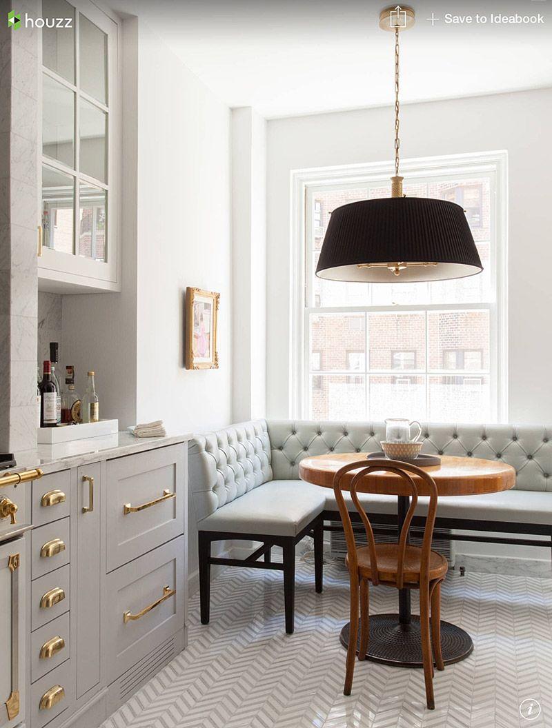 Décor do dia: cozinha em cinza claro e dourado | Kitchen | Pinterest ...