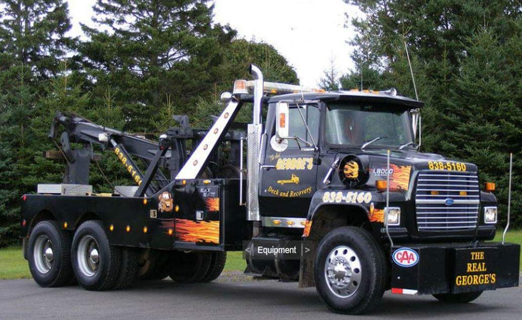 George's Deck and Recovery, Montague Prince Edward Island - 2003 Ford L8000  w/ Challenger unit | Tow truck, Ford trucks, Truck transport