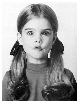 Mine Young brooke shields