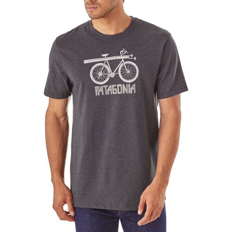 32834377a Patagonia Men's Snow Cycle T-Shirt, Size: Medium, Forge Grey ...