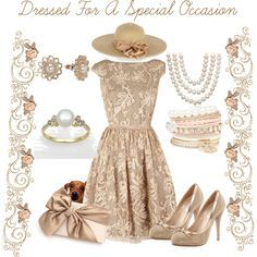 Formal Tea Apparel