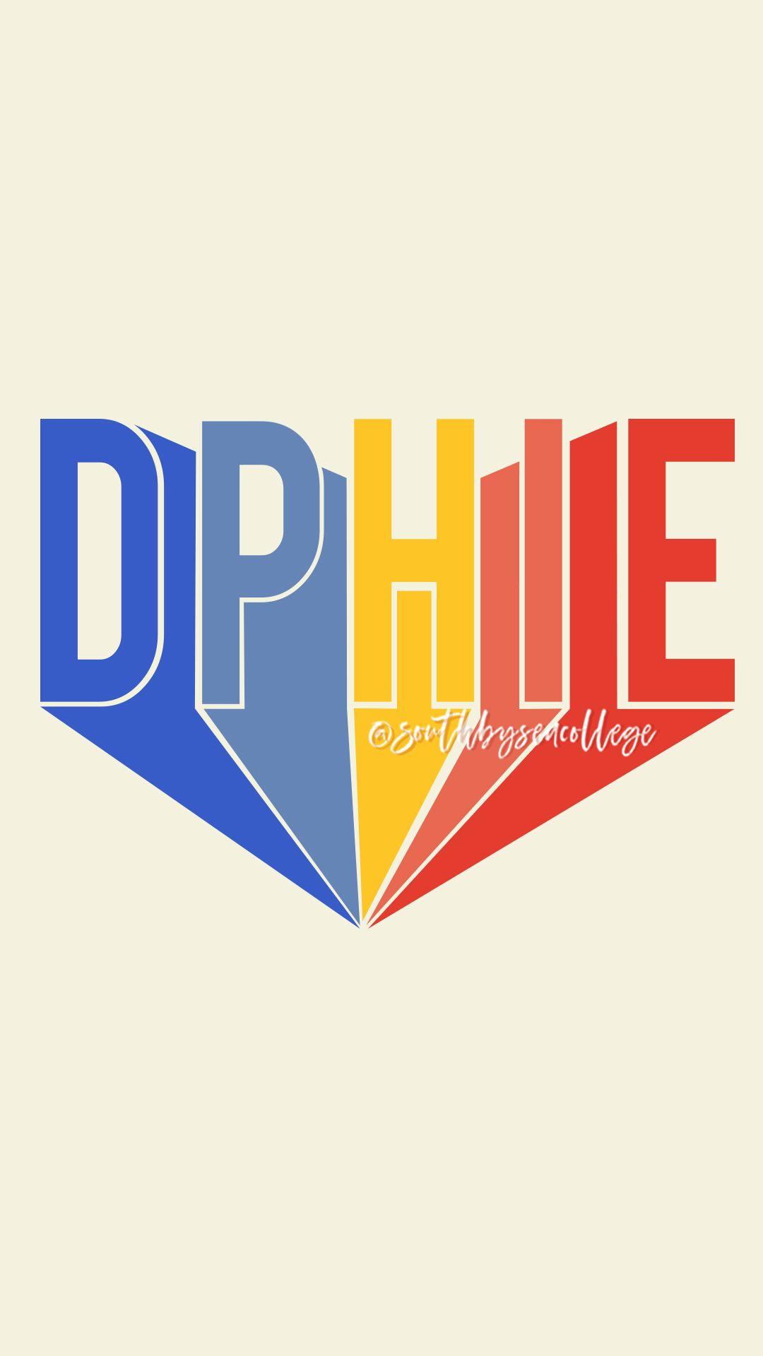 SOUTH BY SEA | @southbyseacollege ✰ Delta Phi Epsilon | DPhiE | Block Letters |