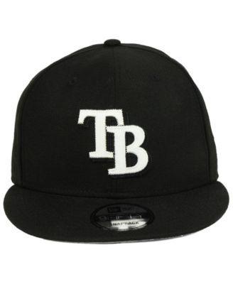 best website 7341c 9a75a New Era Tampa Bay Rays Jersey Hook 9FIFTY Snapback Cap - Black Adjustable
