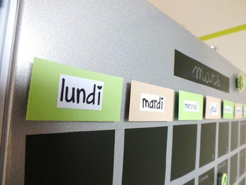 Idée Déco à Faire Soimême Avec De Ladhésif Ardoise Un Sticker - Diy deco cuisine pour idees de deco de cuisine