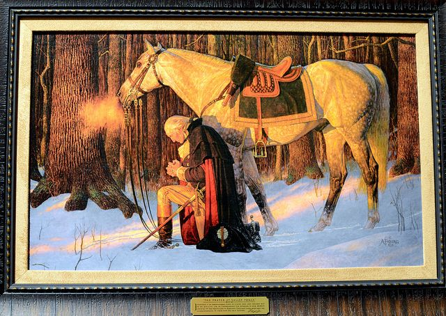 George Washington The Prayer At Valley Forge I Would Love To Have
