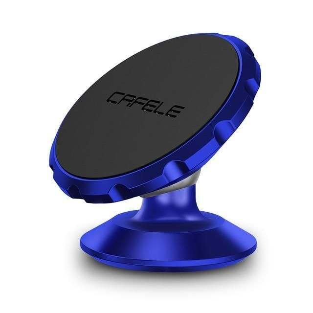 Magnetic Car Phone Holder - Blue Rotate paste