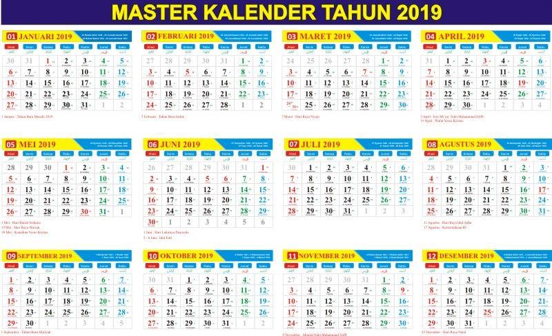 kalender 2019 pdf indonesia Penelusuran Google