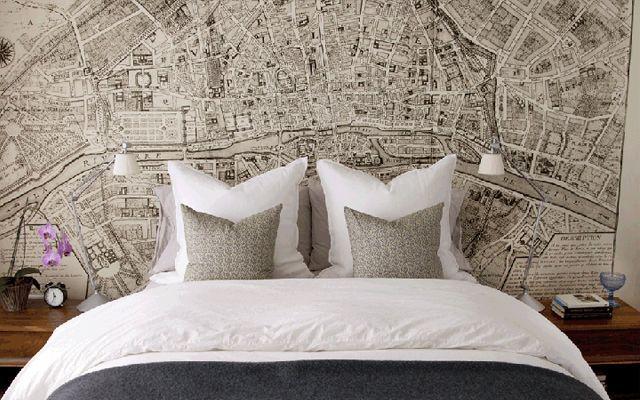 Decoración de dormitorios con papel pintado | Papeles pintados ...