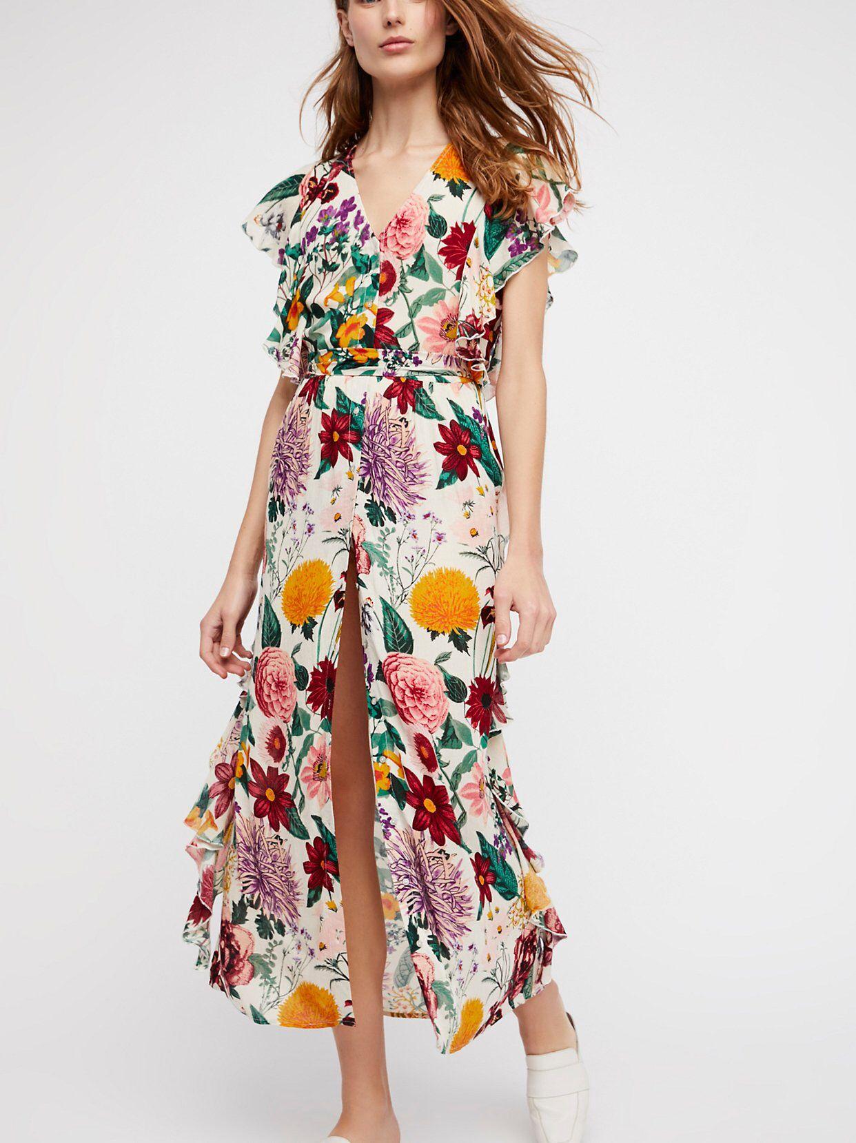 21f2749a6747 Dana Midi Dress | Bohemian Chic | Dresses, Floral midi dress, Casual ...