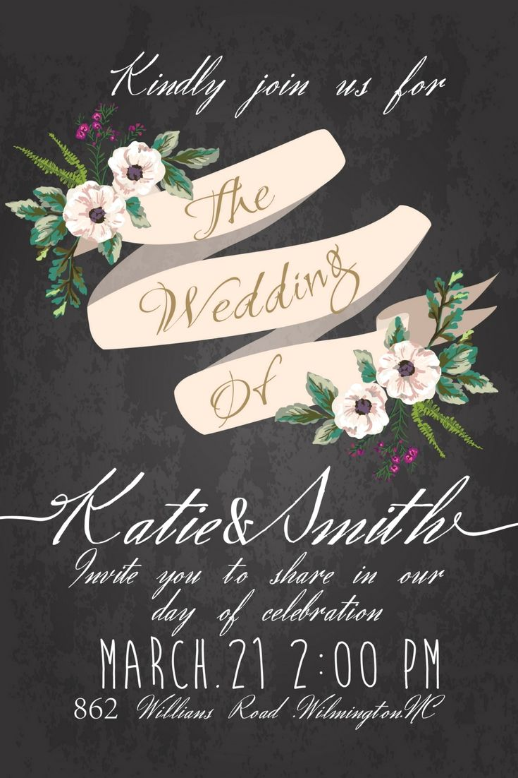 Superb Wedding Invitations Design Template Online For Your Great Big ...