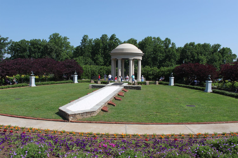 English Garden Folly At The National D Day Memorial In Bedford Va