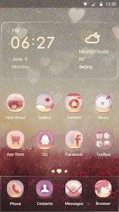 Fantasy Garden Hola Theme Phone themes, Best android