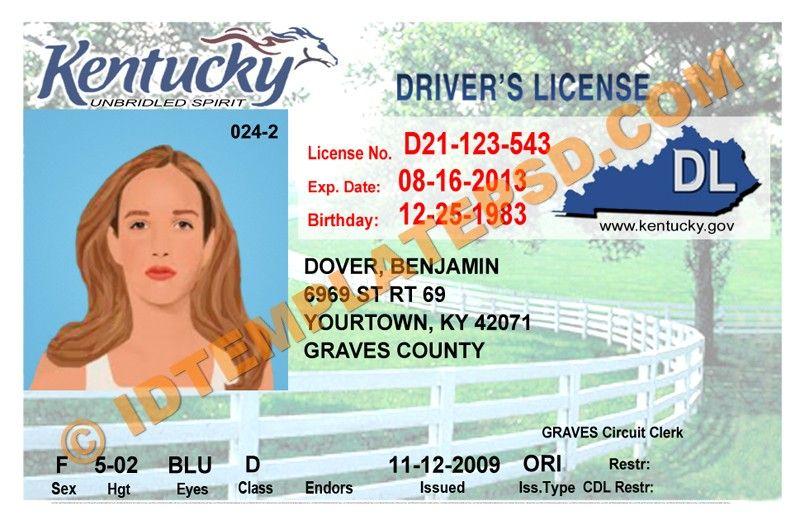 Шаблон водительских прав для фотошопа онлайн