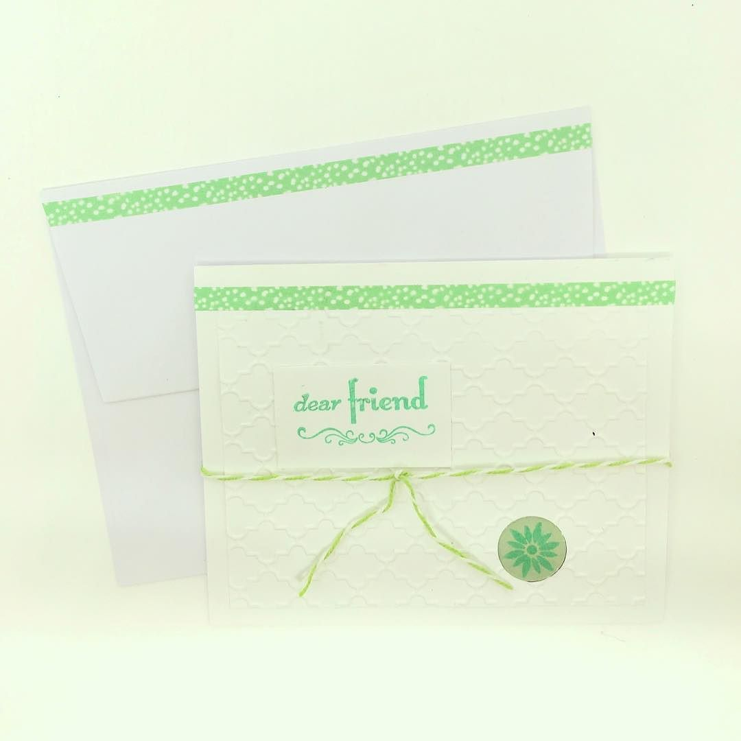 Snail mail is better than an email - tag a friend who would love to get this card from you