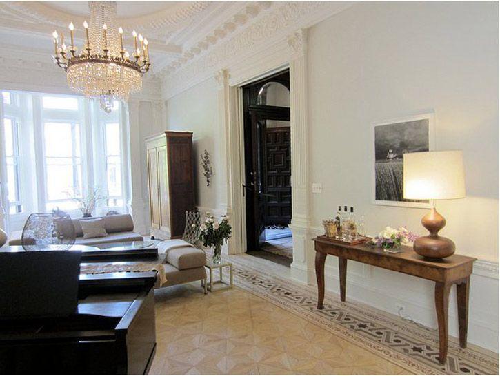 Brooklyn Brownstone Living Room