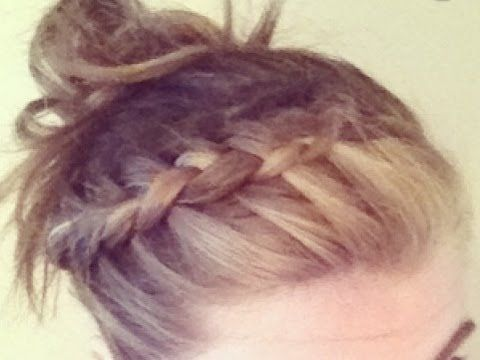 How to do a side french braid youtube for lilys crazy hair how to do a side french braid youtube ccuart Choice Image