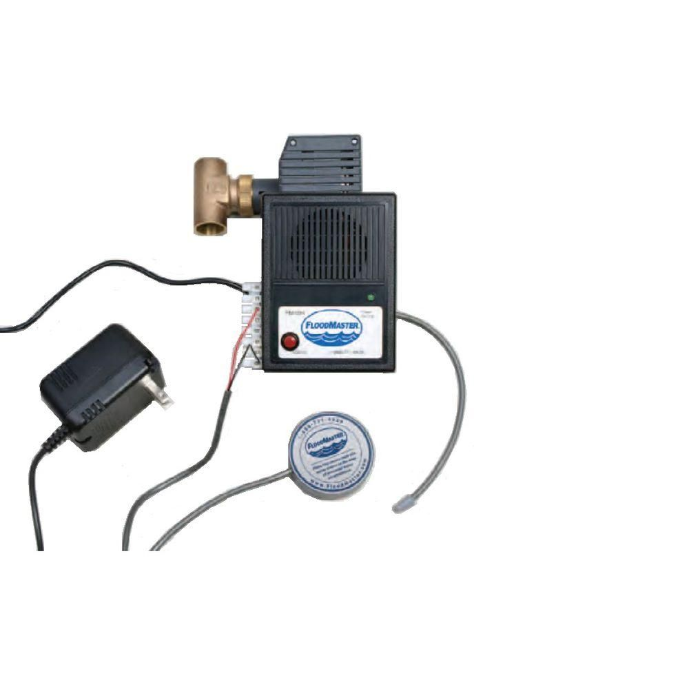 Floodmaster Water Tank Leak Detection And Automatic Shut Off System For 3 4 In Valve Size Rs 094 3 4 The Home Depot Wireless Home Security Systems Home Security Systems Home Security