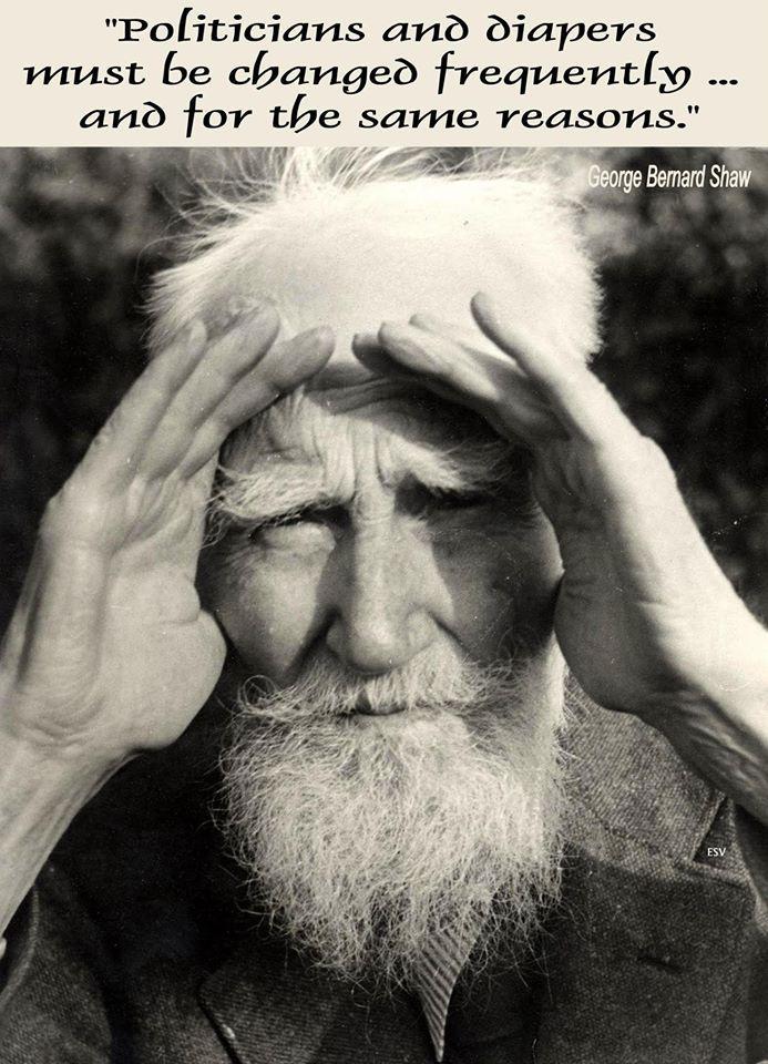 Resultado de imagen de george bernard shaw quotes change for the same reason