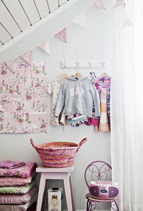 Pienen Eevi-tytön huone. | Unelmien Talo&Koti Kuva Juho Huttunen Toimittaja Anna Pirkkola