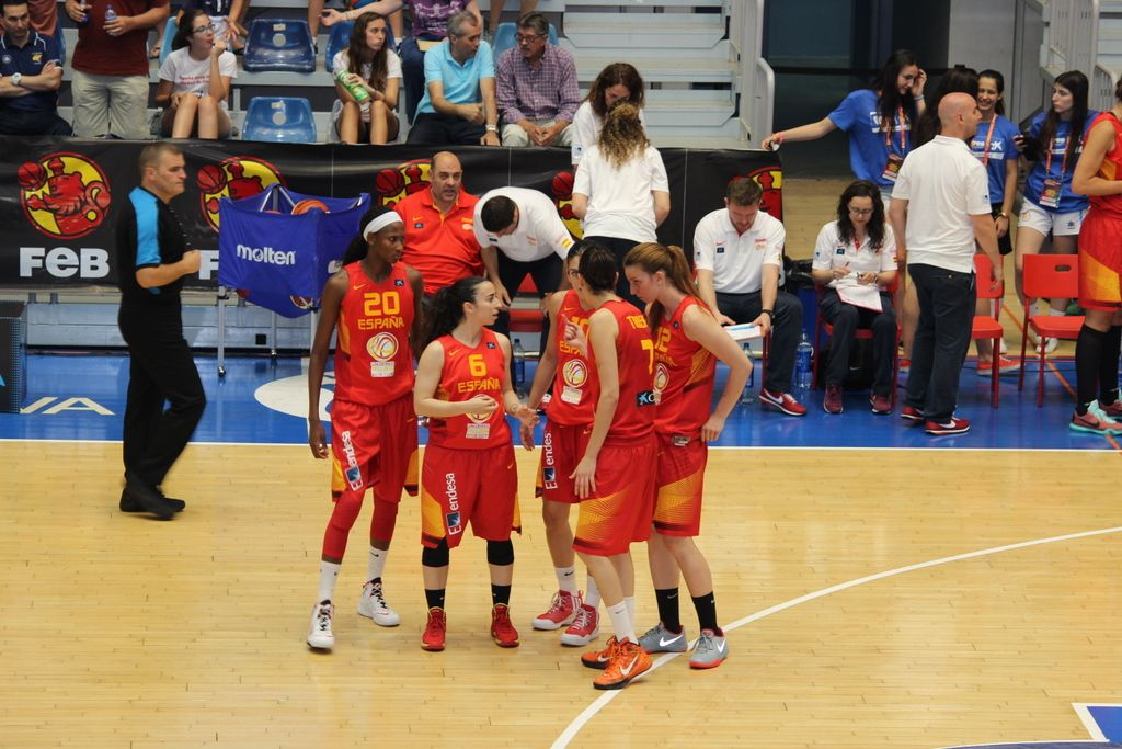 Baloncesto - Huelva 2015 - Quinteto titular - Foto Anesmar