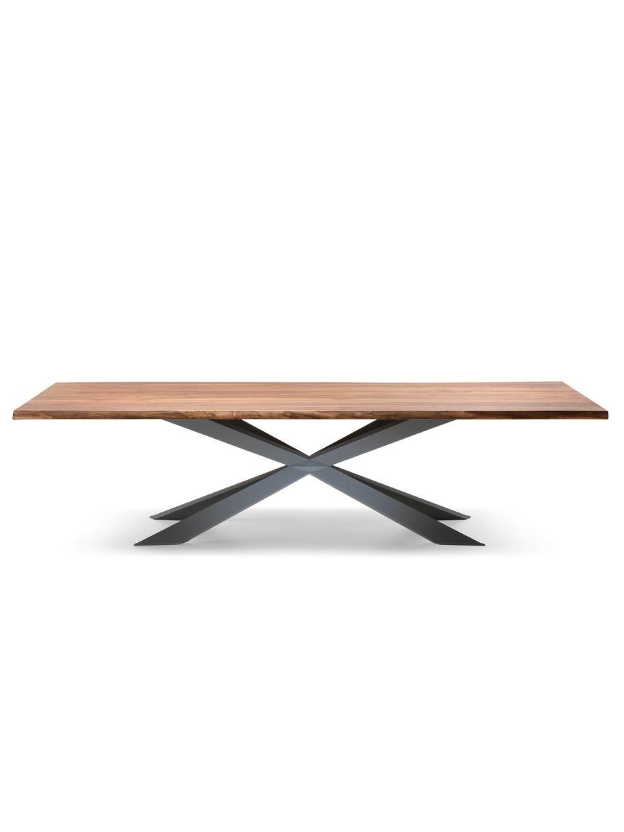 Cattelan Italia Esstisch Spyder Wood Rechteck Lackiert Kaufen Im Borono  Online Shop