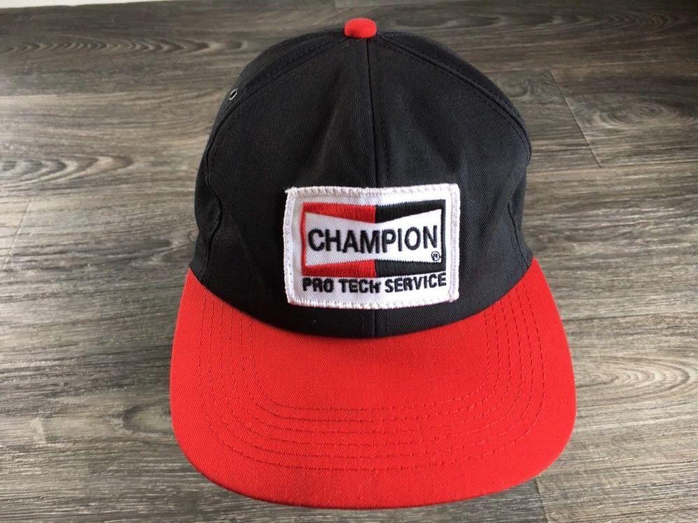 42e4aa36ba4 K product Snapback Hat Champion Pro Tech Service USA Made NWOT Patch Rare  Cap  KProduct  BaseballCap