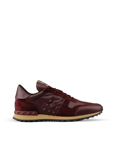 d0b2778beffd9 Valentino sneakers Burgundy | Shoes in 2019 | Valentino sneakers ...