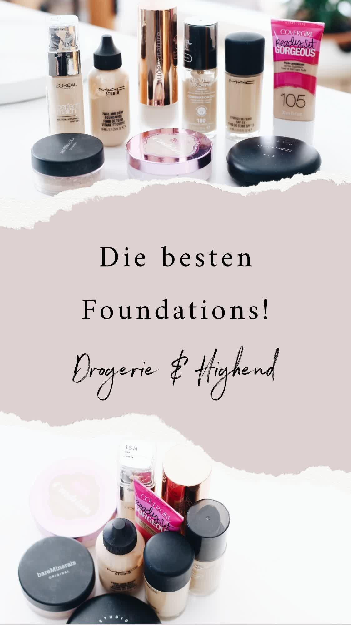 Große FoundationGuide mit meinen Top & Flop Produkten