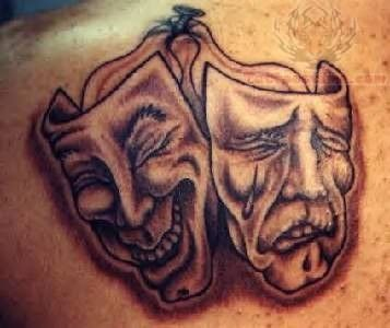 Japanese Hannya Mask Tattoo Design   Gemini tattoo, Black ...