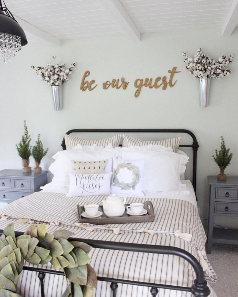 Rustic Country Farmhouse Decor Ideas 14 Guest Bedroom Design Master Bedrooms Decor Rustic Farmhouse Bedroom