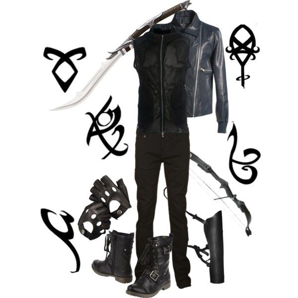 Male Shadowhunter Gear Shadowhunter Stuff Pinterest