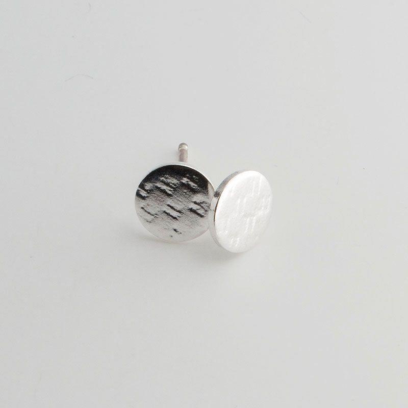 6mm Minimalist Earrings Flat Disc Dot Dainty Earringssilver Stud Earringsearrings