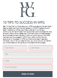 10 Steps To Succeed In Wfg 10 Things Succeed Tips