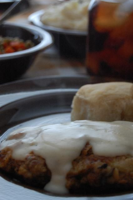 Heritage Schoolhouse Homestyle Chicken Fried Steak Chicken Fried Steak Food Man Food
