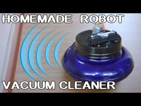 How To Make Robot Vacuum Cleaner   DIY ideas and tuts