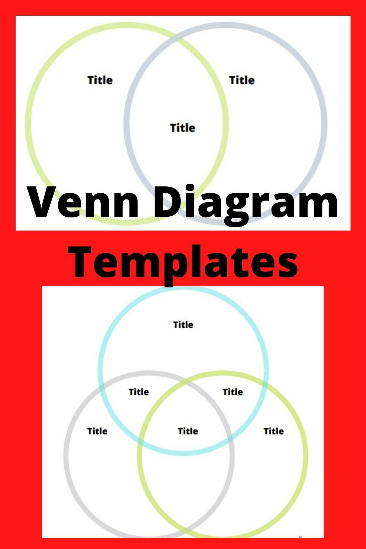 Venn Diagram Templates Printable PDF Free Downloadable in ...