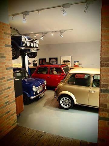 Mini cooper garage mini minicooper rvinyl for Garage mini cooper