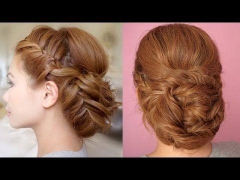 اشيك تسريحة شعر ضفائر للمناسبات والخروجات تسريحات شعر جديدة تسريحة شعر مضفر Hair Tutorial Hair Videos Hair Videos Tutorials