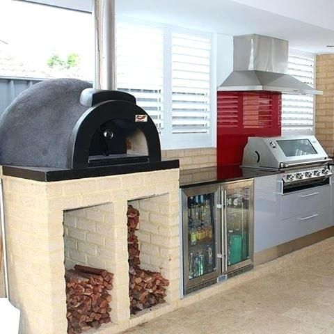 Love This Beautiful Indoor Kitchen Weve Setup Featuring The Alfresco ...